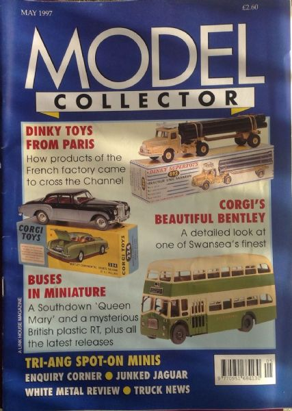 ORIGINAL MODEL COLLECTOR MAGAZINE May 1997